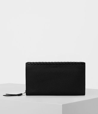 Kita Pebble Leather Wallet $118 thestylecure.com