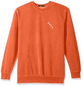 Obey Men's 8 Ball Icon Crew Neck Fleece Sweatshirt