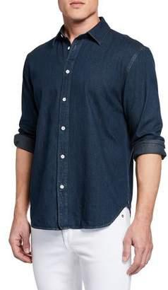 Rag & Bone Men's Fit 3 Chambray Shirt