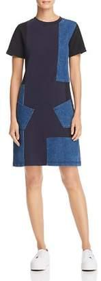 McQ Denim Patchwork Dress