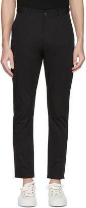 Isabel Benenato Black Cotton 5-Pocket Trousers $460 thestylecure.com