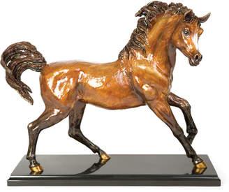 Jay Strongwater Ashab Arabian Horse Figurine