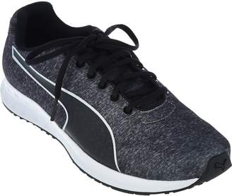 Puma Heathered Jersey Lace-up Sneakers - Burst