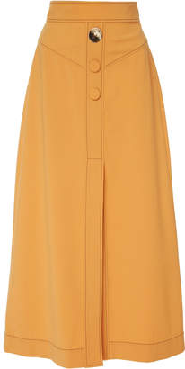 Ellery Homework Wool Midi Skirt
