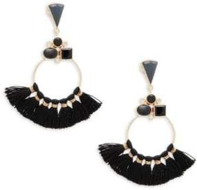 Veronica Chandelier Tassel Earrings