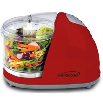 Brentwood Mini Food Chopper - Red