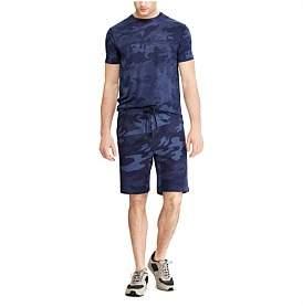 Polo Ralph Lauren Mens Camo Cotton-Blend Short