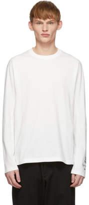 Y-3 White Classic Long Sleeve T-Shirt