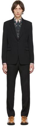 Dries Van Noten Black Kenneth Suit