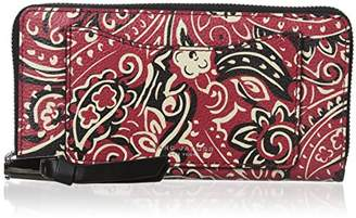 Marc Jacobs Recruit Paisley Continental Wallet