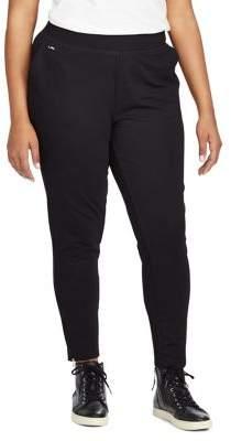 Lauren Ralph Lauren Plus Plus Size Jersey Ankle Pants
