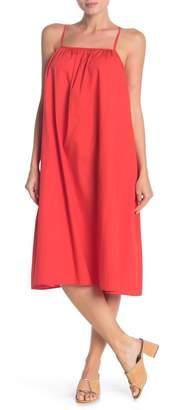 Cotton Emporium Poplin Midi Dress