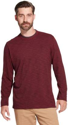 Arrow Men's Classic-Fit Striped Mock-Layer Tee