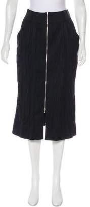 Leroy Veronique Wool Midi Skirt w/ Tags