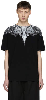 Marcelo Burlon County of Milan Black Animal Wing T-Shirt
