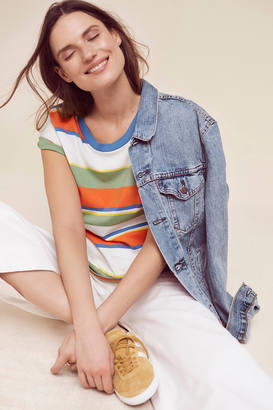 Levi's Striped Surf Tee $34.50 thestylecure.com