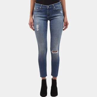 AG Jeans Legging Ankle Skinny Jean In 18 Years Destroyed