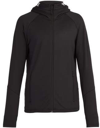 Peak Performance Rider Zip Through Hooded Sweatshirt - Mens - Black