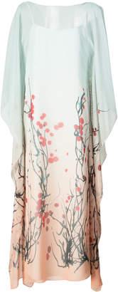 Vionnet blossom print shift dress