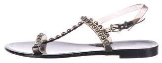 Givenchy Studded Jelly Sandals