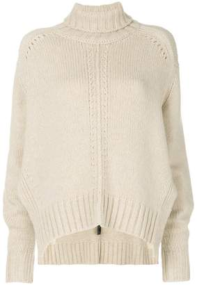 Isabel Marant oversized roll neck jumper