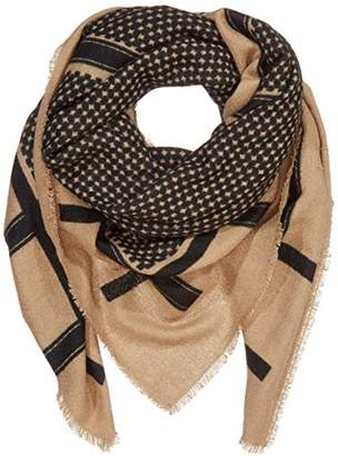 Pieces Women's Pcjuliana Square Scarf Trilby Hat