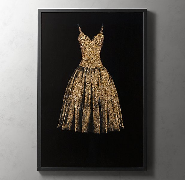 Dress Straw Artwork by Todd Murphy