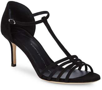 Giuseppe Zanotti Leather Ankle-Strap Open-Toe Sandal
