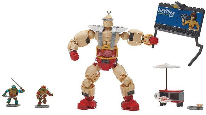 Mega Bloks Teenage Mutant Ninja Turtles Krang's Rampage