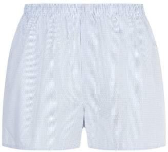 Sunspel Broken Stripe Boxer Shorts