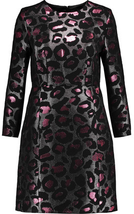Marc by Marc Jacobs Metallic Brocade Mini Dress