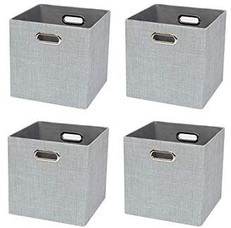 Foldable Storage Bins Boxes Cubes Container Organizer Baskets Fabric Drawers for Bedroom