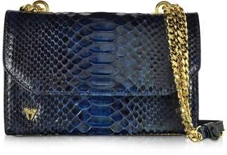 Ghibli Small Phyton Leather Shoulder Bag