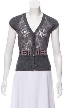 Philosophy di Alberta Ferretti Short Sleeve Cardigan