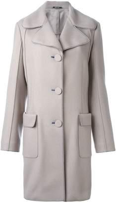 Maison Margiela contrast stitch coat