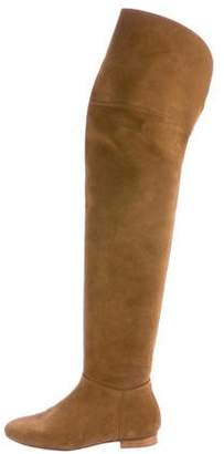 Pedro Garcia Thigh-High Suede Boots