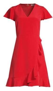 Draper James Solid Flutter A-line Dress