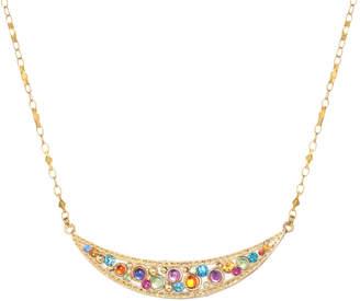 "DAY Birger et Mikkelsen Michal Golan Jewelry Crescent Pendant Necklace ""Aurora"""