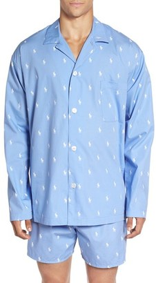Men's Polo Ralph Lauren 'Polo Player' Embroidered Pajama Top $44 thestylecure.com