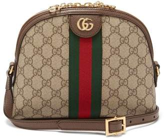 Gucci Ophidia Gg Supreme Cross Body Bag - Womens - Brown Multi