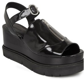 Women's Allsaints Gino Wedge Sandal $348 thestylecure.com