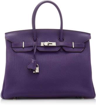 Hermes Vintage by Heritage Auctions 35cm Iris Togo Leather Birkin Bag