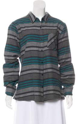 Patagonia Long Sleeve Button-Up Blouse