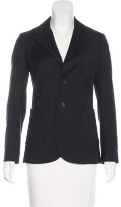 RED Valentino Structured Notch-Lapel Blazer