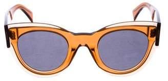 Celine Tinted Oversize Sunglasses