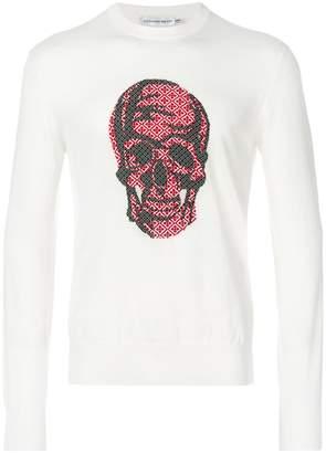 Alexander McQueen Skull-print sweater