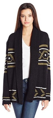 Element Juniors Broome Jacquard Cardigan Sweater $79.95 thestylecure.com