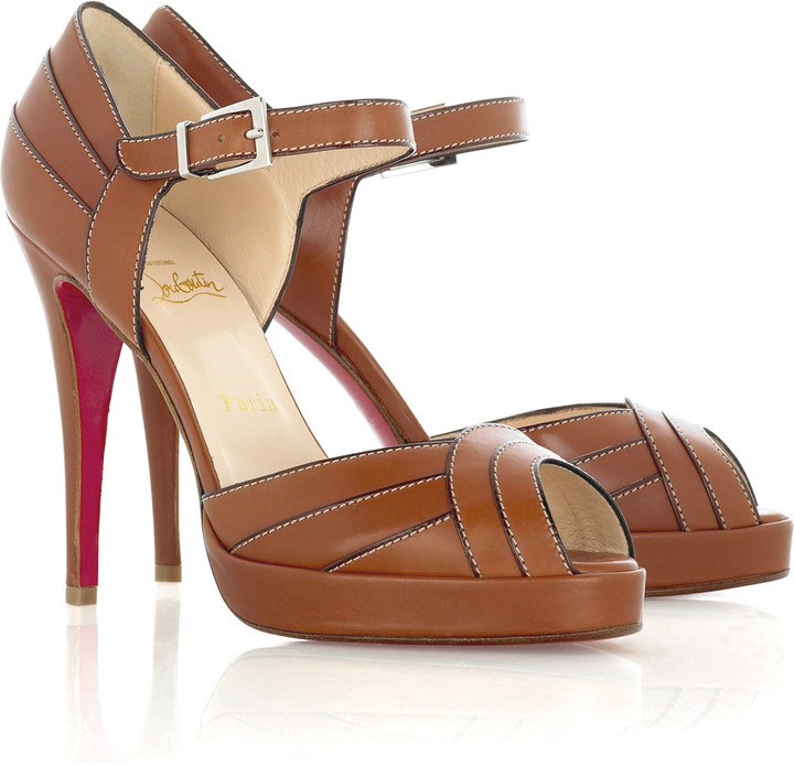 Christian Louboutin City 120 platform sandals