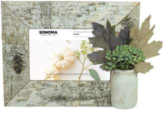 "Sonoma Goods For Life SONOMA Goods for Life Faux Birch Farmhouse 4"" x 6"" Frame"