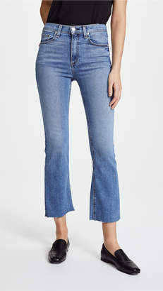 Rag & Bone The Hana High Rise Cropped Jeans